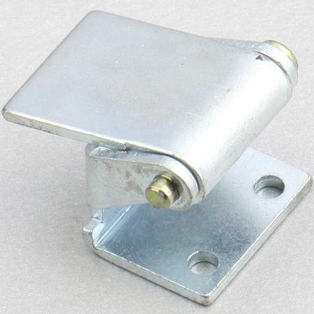 steel hinge / concealed / screw-in / 180°