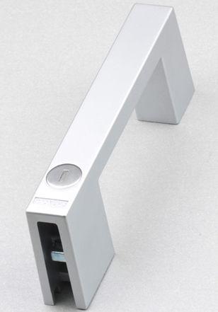 hook handle / door / stainless steel / U-shaped