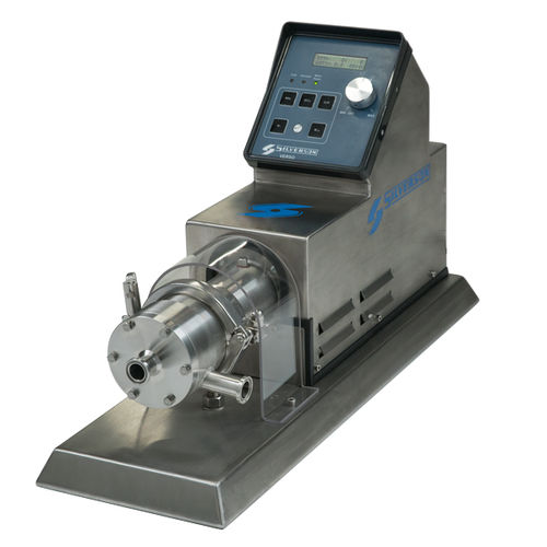 rotor-stator mixer / in-line / laboratory / stainless steel