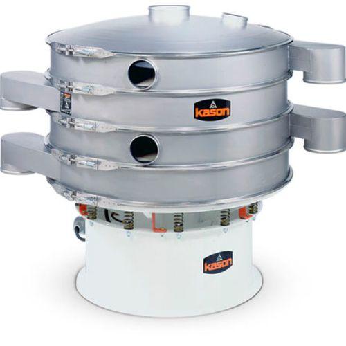 circular vibrating screener / for bulk materials