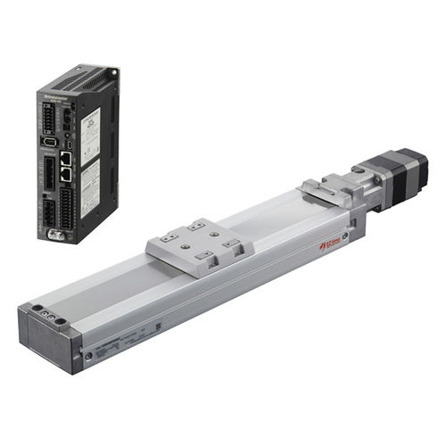 Electric linear axis / compact / aluminum EZS series Oriental Motor