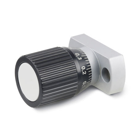 knurled control knob / mechanical with position indicator