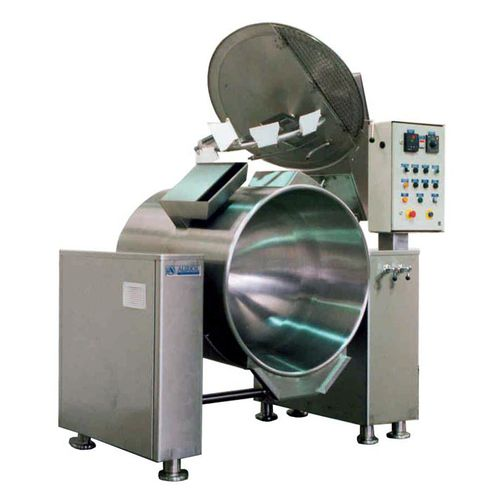 boiling pan for the food industry / for catering / reclining / steam