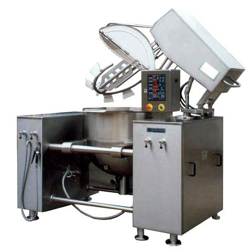 boiling pan for the food industry / for catering / steam / electric