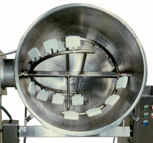 dynamic mixer / batch / for the food industry / horizontal