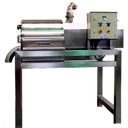stationary sieving machine / solid/liquid / for the food industry