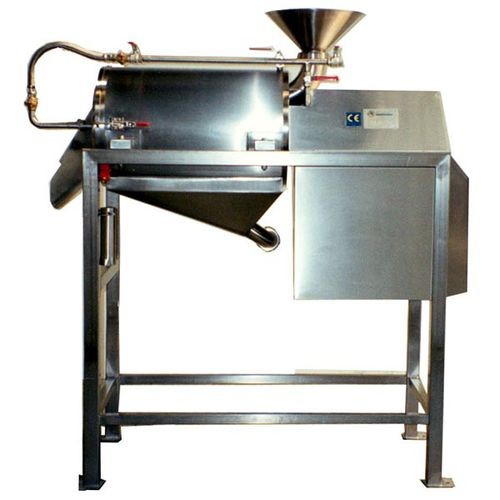 stationary sieving machine / solid/liquid / for the food industry / grating