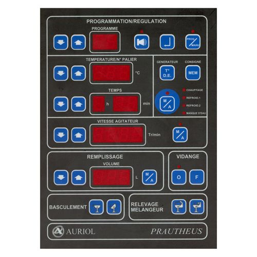 digital control panel / compact / with touchscreen