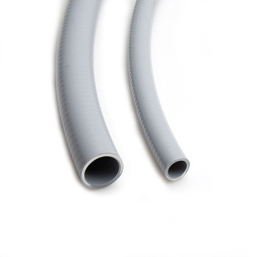 protection conduit / tubular / for cables / PVC