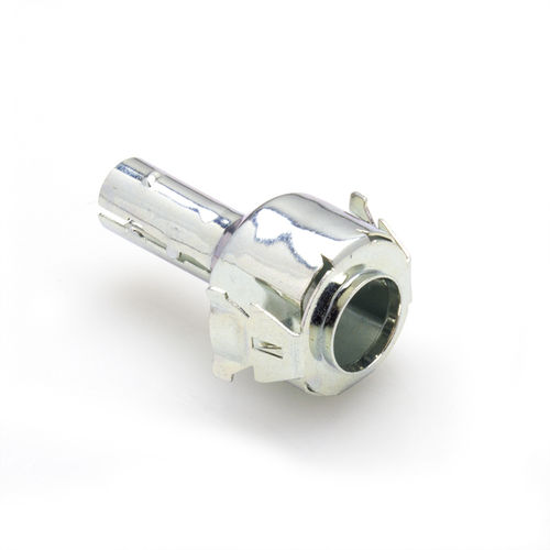 screw-in fitting / snap-in / straight / zinc