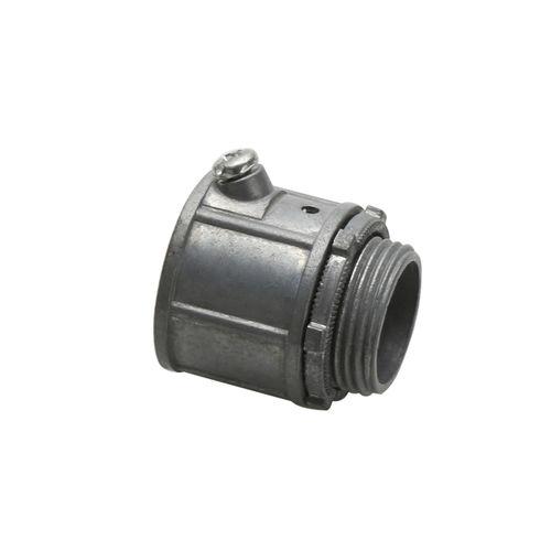 screw-in fitting / straight / zinc