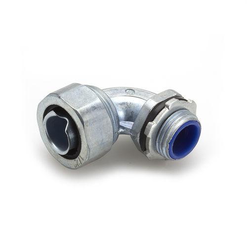 socket fitting / 90° angle / zinc