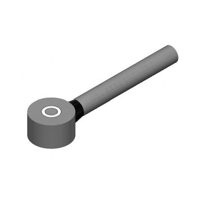 linear displacement sensor / non-contact / capacitive / button type