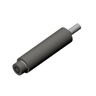 Linear displacement sensor / non-contact / capacitive / cylindrical HPC-75 CAPACITEC