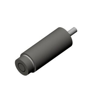 linear displacement sensor / non-contact / capacitive / cylindrical