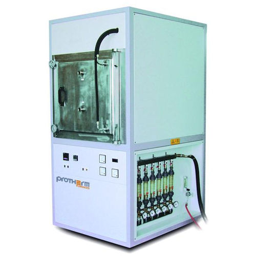 controlled atmosphere furnace / heat treatment / analysis / chamber