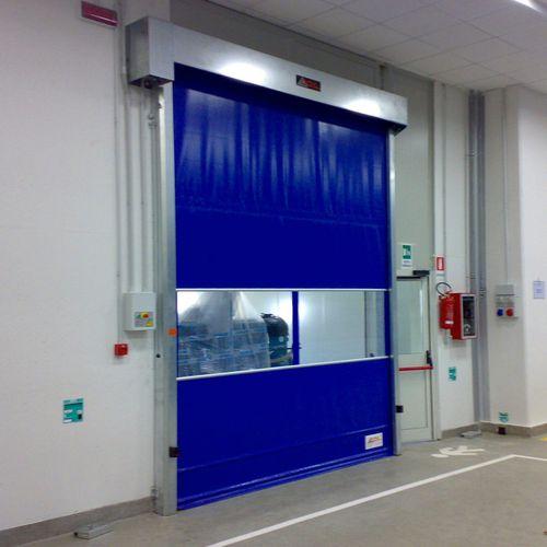 roll-up door / PVC / steel / stainless steel