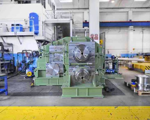 Gear train gear reducer / pinion stand / for hot rolling mills / twin-drive Galbiati Group S.r.l.