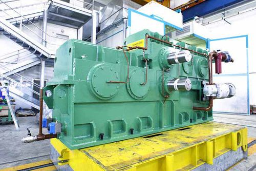 parallel-shaft gear reducer / industrial