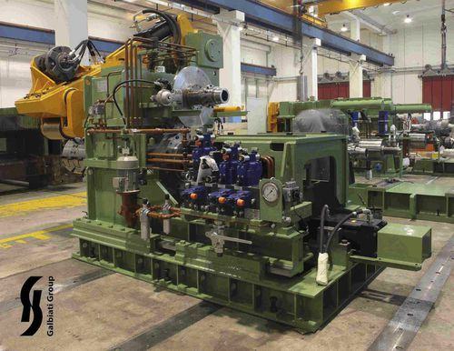 parallel-shaft gear reducer / for roller press