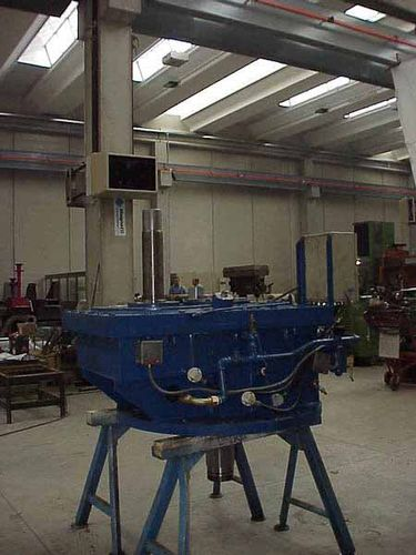 Parallel-shaft gear reducer-multiplier / for hydroelectric power plants Galbiati Group S.r.l.