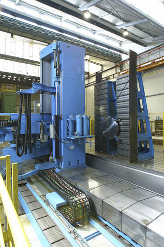 CNC drilling and milling machine / deep hole / horizontal