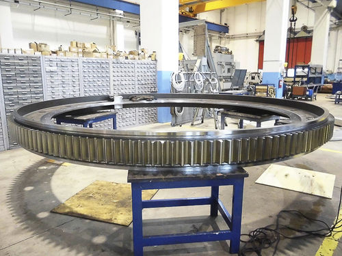 girth gear for the steel industry / for the iron and steel sector
