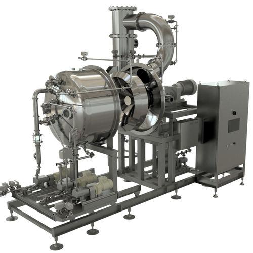 vacuum evaporator / centrifugal / thin-film / process
