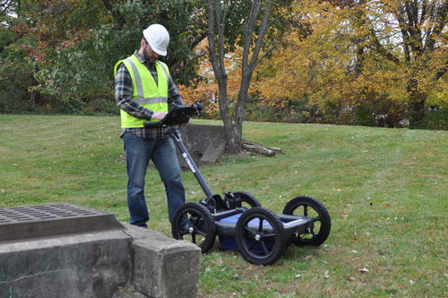 tri-frequency ground penetrating radar