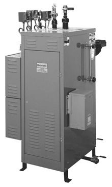 Steam boiler / electric / tubeless 3 - 1 620 kW, max. 240 °F Chromalox