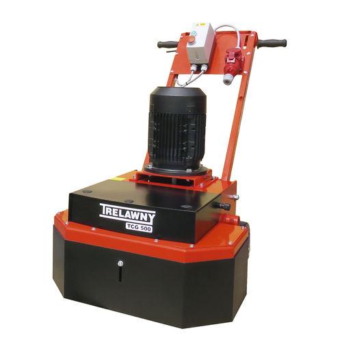 electric sander / disc / for concrete floors / grinder