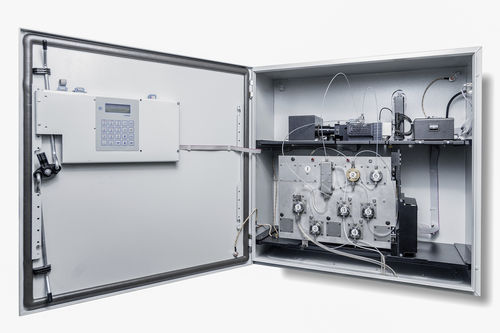 oil analyzer / water / temperature / for integration