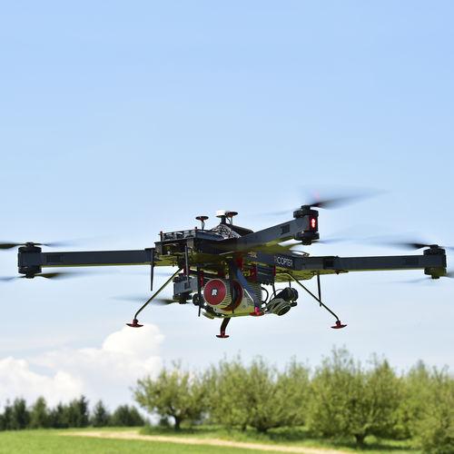 quadrotor UAV / aerial photography / monitoring / mapping