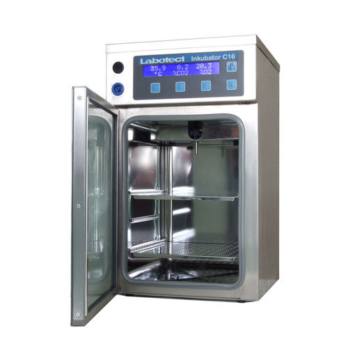 CO2 incubator / laboratory / natural convection / compact