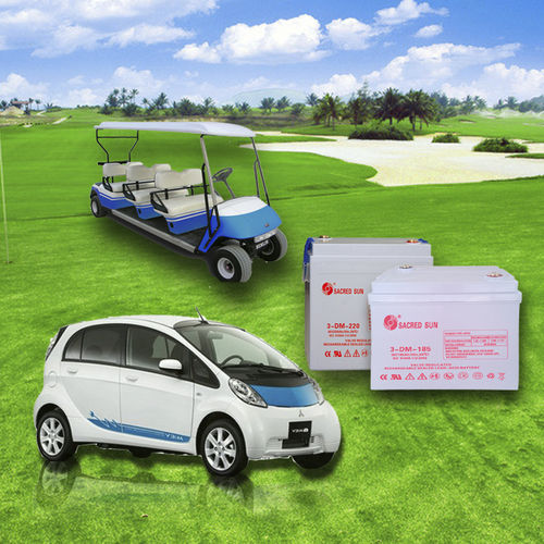 AGM battery / deep cycle / for electric vehicles DM Series Shandong Sacred Sun Power Technology