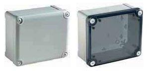 rectangular enclosure / polycarbonate / for general purpose / waterproof