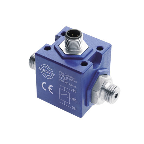 thermal flow switch / for water / compact / in-line