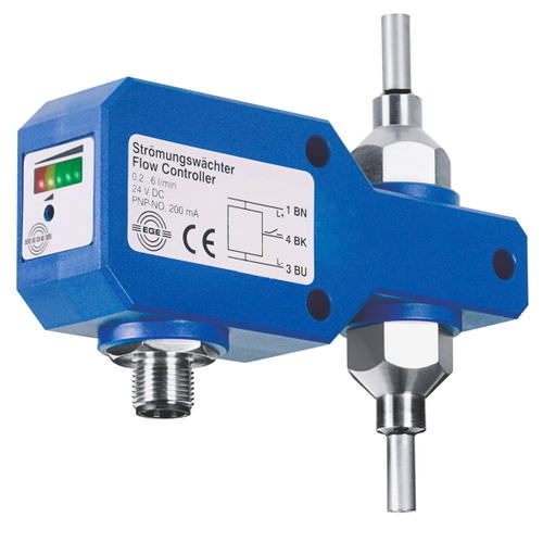 thermal flow sensor / for liquids / with analog output