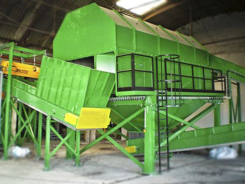 drum screener / for waste / for recycling / sorting