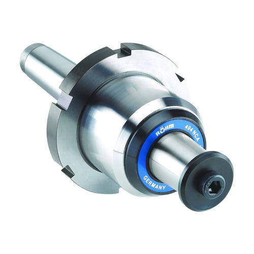 rotating centering taper / for pipes / with forcing nut
