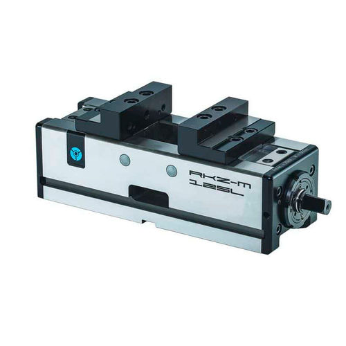 self-centering vise / for machine tools / horizontal / steel