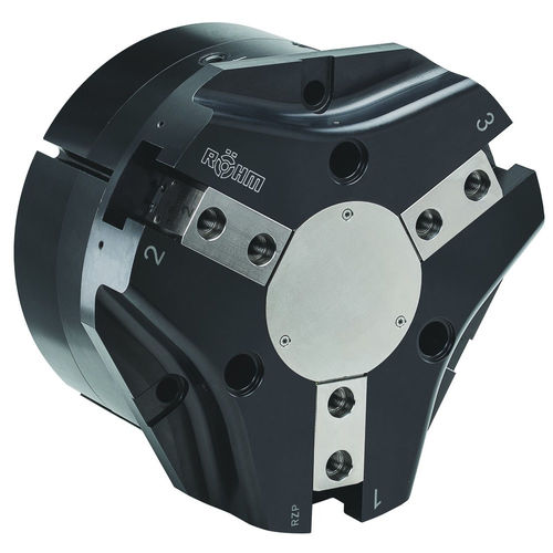 pneumatic gripper / angular / 3-jaw / for industrial robots