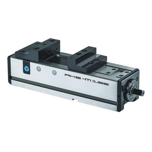 machine tool vise / manual / horizontal / compact