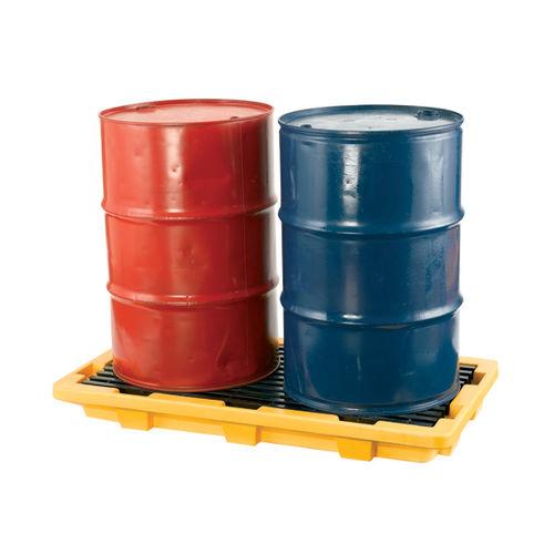 2-drum spill pallet / plastic