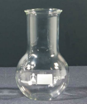 round-bottom flask / borosilicate glass