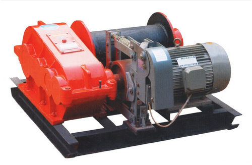 Electric winch / lifting / high-speed / rotary drum JM series Henan Weihua Heavy Machinery Co., Ltd