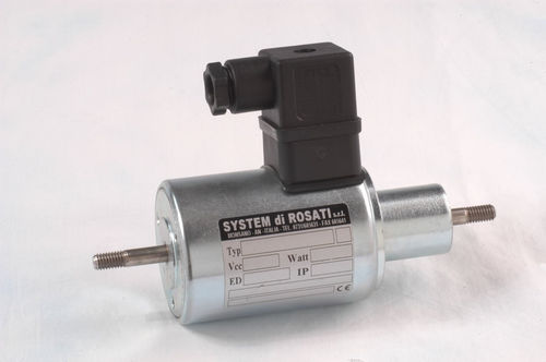 Linear solenoid / single-coil / power / for solenoid valves CS series SYSTEM di ROSATI