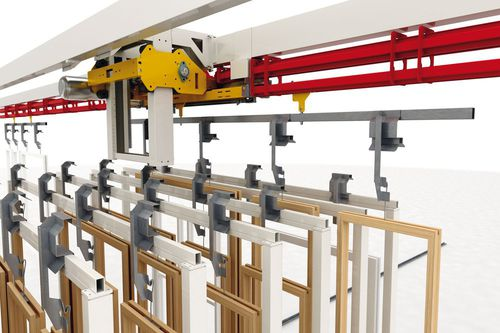 chain conveyor / automatic / monorail / power and free