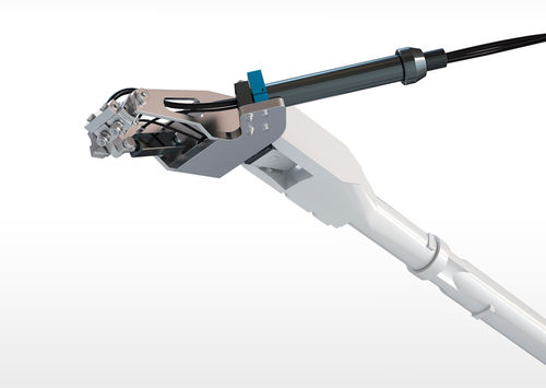 spraying robotic cell