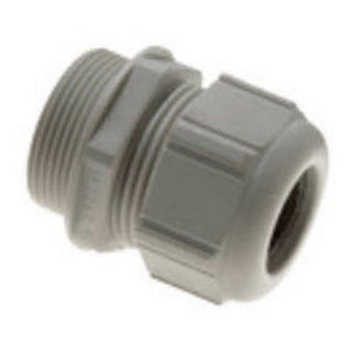 nylon cable gland / waterproof / straight